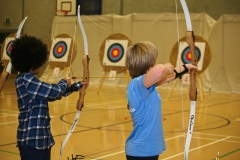 Luton Archery Friendly Game 02 11 14 Paresh Solanki-58