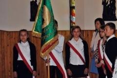 Uczniowie SP w Borowinie Sitanieckiej